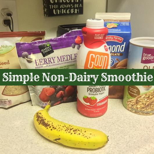 Non-Dairy Smoothie